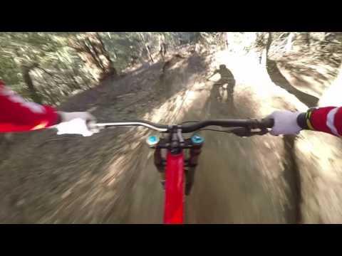 MTB: Dan Atherton Rips up the Crestline trails  - captured on his GoPro Karma Grip