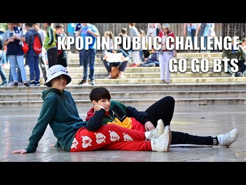 [KPOP IN PUBLIC CHALLENGE SPAIN] (고민보다 Go) GO GO BTS Dance Cover by KIH
