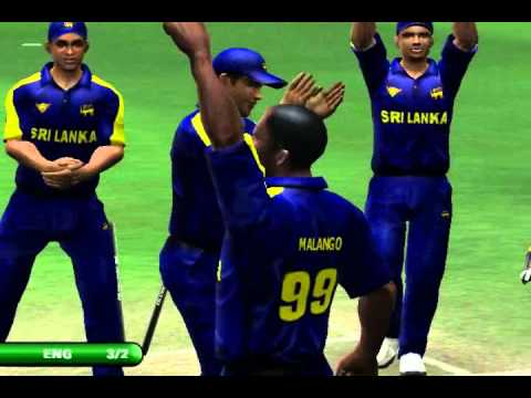 EA CRICKET SPORT SRI LANKA VS ENGLAND 2ND BAT ENGLAND