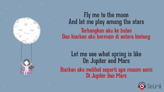 Gambar cover Fly Me To The Moon - Frank Sinatra (Lyrics video dan terjemahan) - [Ruth Anna Cover]
