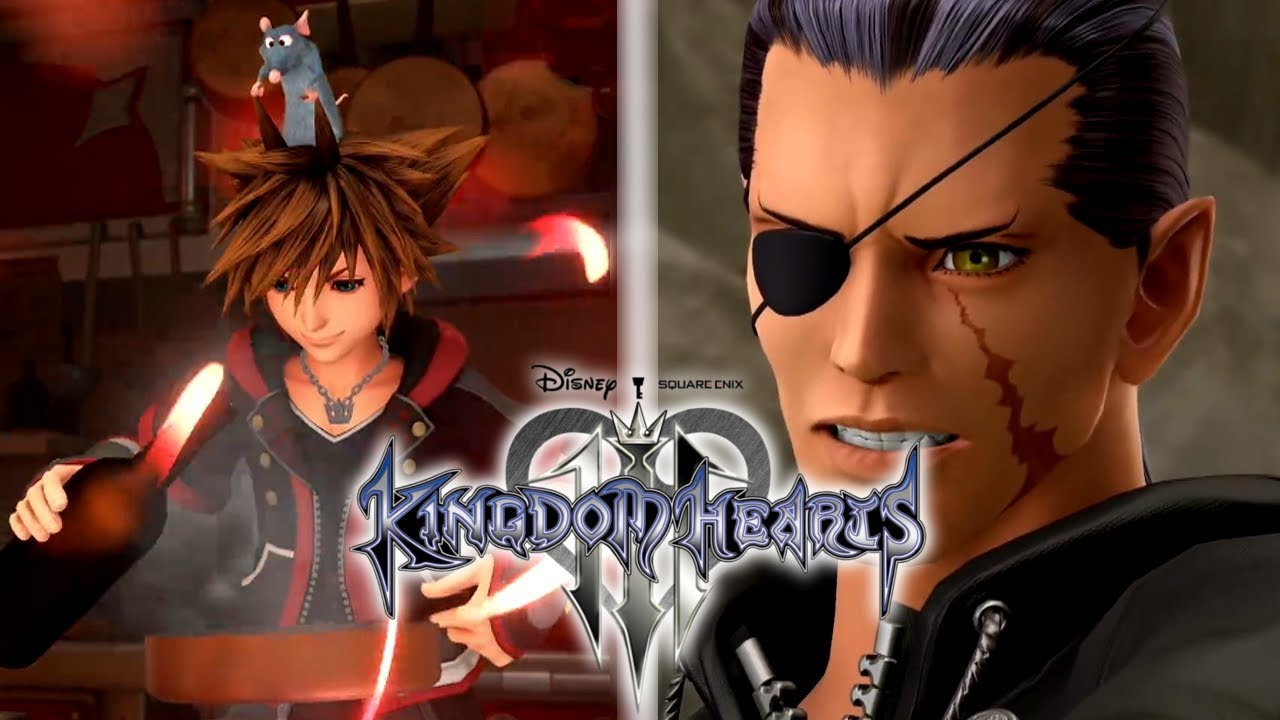 Kingdom Hearts 3 - TRAILER Vol  2 - Remy/Ratatouille Minigame - Analysis -  PS4 Bundle
