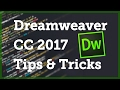 [1 / 12] Dreamweaver CC 2017 Tips & Tricks - Quick Edit