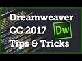 [1 / 12] Dreamweaver CC 2017 Tips & Tricks - Quick Edit