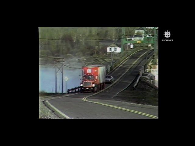 La vie des routiers au début des années 1980
