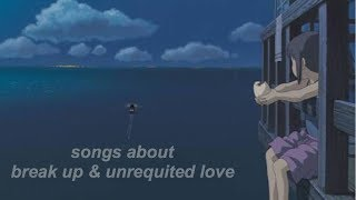my kpop playlist | break up & unrequited love