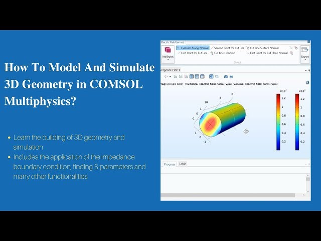 How To Model And Simulate 3D Geometry? | COMSOL Multiphysics