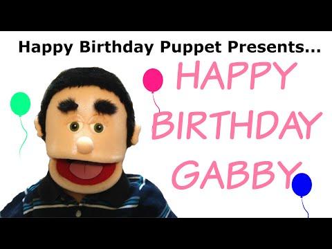 Happy Birthday Gabby - Funny Birthday Song