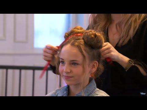 Modowe wyzwanie Minnie | Fryzury | Disney Channel Polska