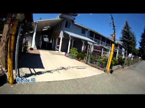Cycling Cowichan Valley Trail Lake Cowichan to Duncan, BC
