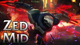 Project Zed Mid - League of Legends Commentary