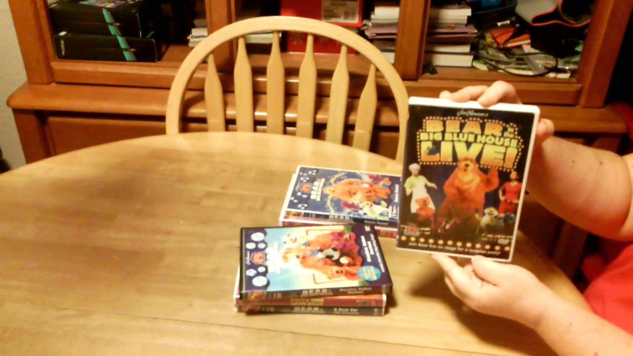 my bear in the big blue house dvd collection! - youtube