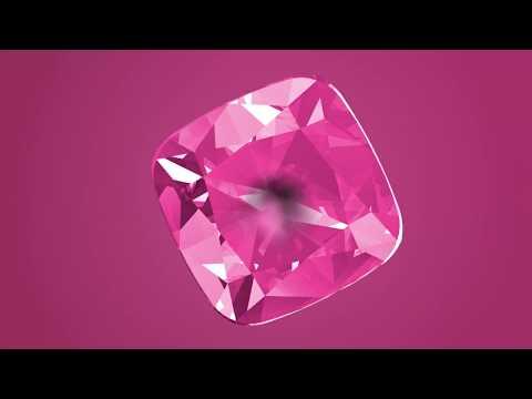 A SWAROVSKI CREATED DIAMOND IS...