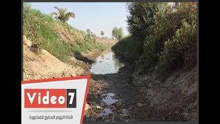 جفاف ترع محافظة سوهاج و بوار الأراضى الزراعية والمياه غائبة منذ 45 يومًا