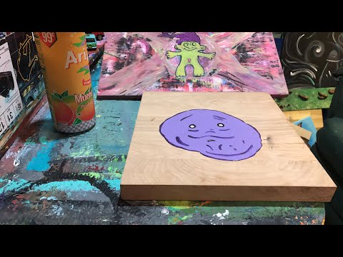 Karaoke and painting