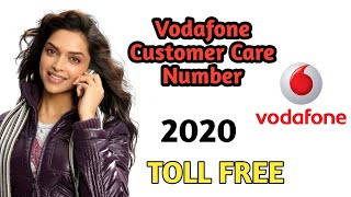 Vodafone Customer Care Numbers 2020 || Toll Free