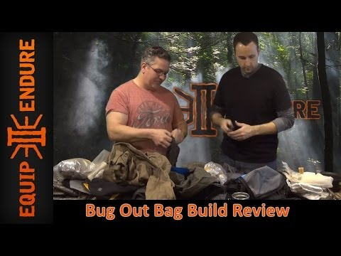 Bug Out Bag Build Review with Dan Eastland, Part 1 by Equip 2 Endure