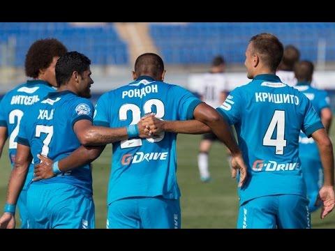 Zenit St Petersburg 8-1 Dinamo Minsk
