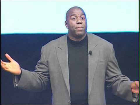 Magic Johnson talks about Pat Riley