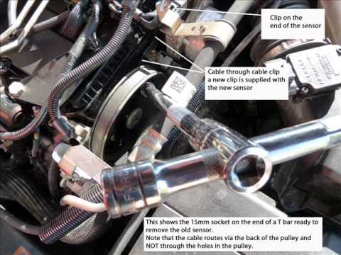 Cylinder Head Temperature Sensor Location and Removal Ford Mondeo TDCi 2.0 (2004)