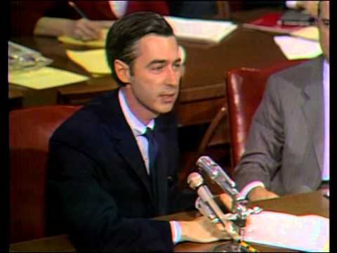 May 1, 1969: Fred Rogers testifies before the Senate Subcomm