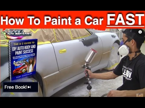 How To Paint Any Car Yourself Step By Painting In 12 Minutes