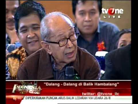 ILC - Prof. J E Sahetapy., Dalang2 di balik Hambalang.