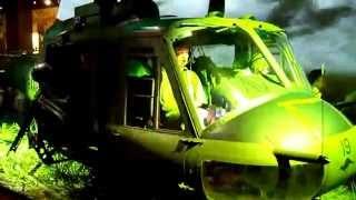 Helicopter Exhibit at Australian War Memorial