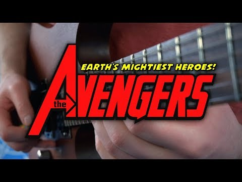 Avengers: Earth's Mightiest Heroes Theme on Guitar