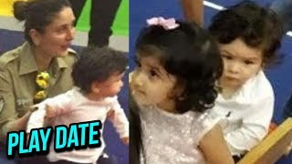 Kareena Kapoor Taimur Ali Khan PLAY DATE with Tusshar Kapoor and Laksshya