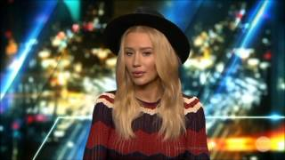 Iggy Azalea LIVE Talks Plastic Surgery & Engagement to Nick Young 19-8-2015