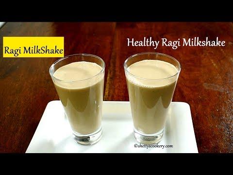 ragi milkshake recipe | healthy RAGI MILK | ragi juice recipe