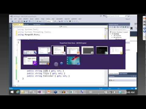 Getting started with MongoDB and NoSQL in .NET and C#