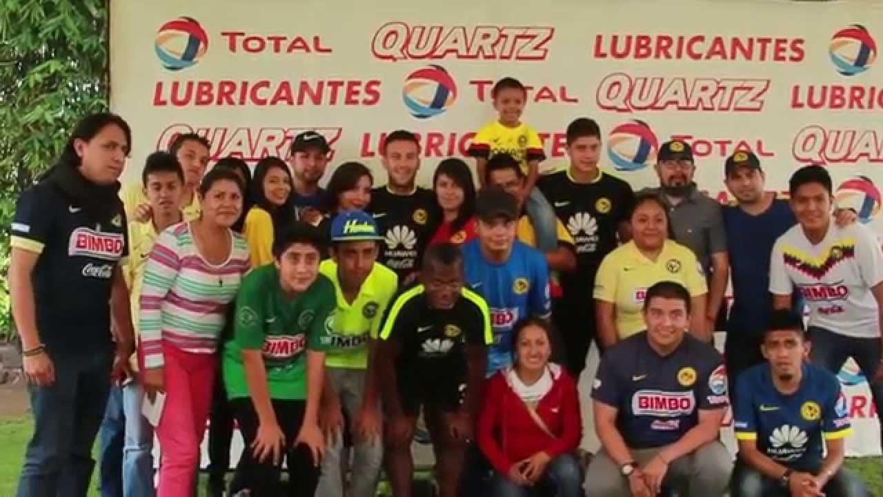 569f7adb0 Meet and greet Club America - TOTAL - YouTube