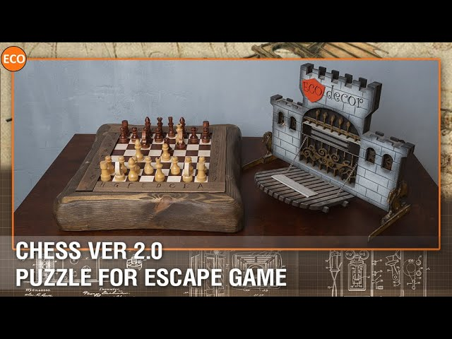 Chess ver 2.0 - Puzzle for escape game.