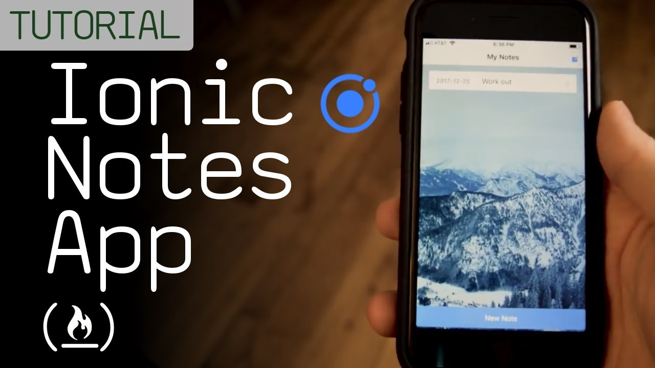 Ionic Notes App Tutorial (Mobile App Development) - YouTube
