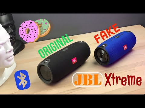 JBL Xtreme Vs. Fake Xtreme Sound Test