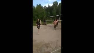 Волейбол в Покровке. ООО ЧОП ''Оберег''
