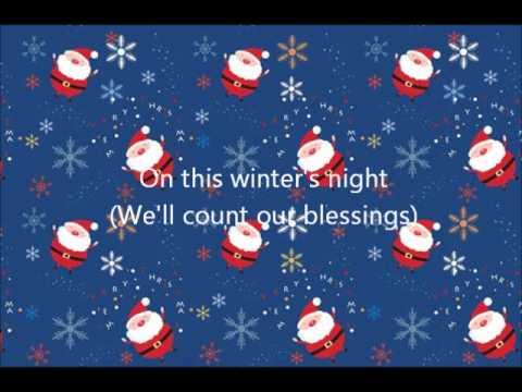 On This Winters Night Lady Antebellum Lyrics