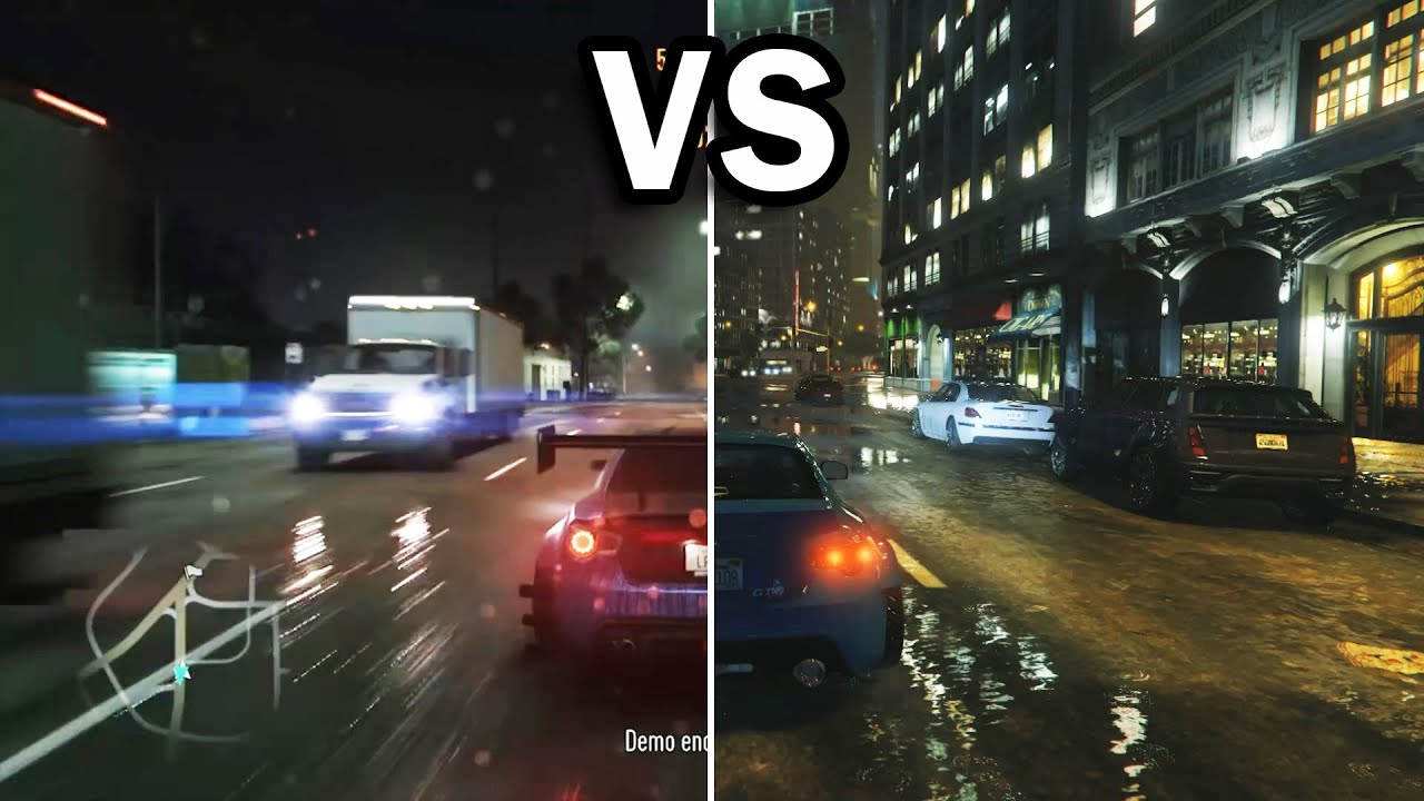Hd Nfs Cars Wallpapers Gta V Vs Nfs 2015 Side By Side Youtube