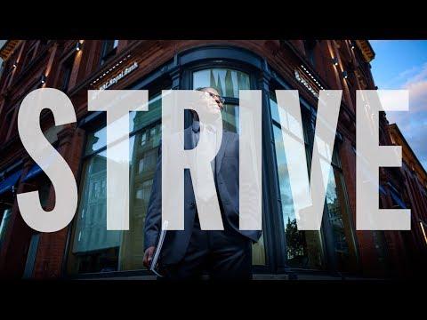 NSCC Strive - 30 sec TV Commercial: Bank on it. (Samuel Kiragu, School of Business)