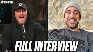 Pat McAfee & Aaron Rodgers Talk Aaron's New Diet, His New Gym, and More