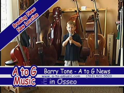 Donovan as Barry Tone for A to G Music