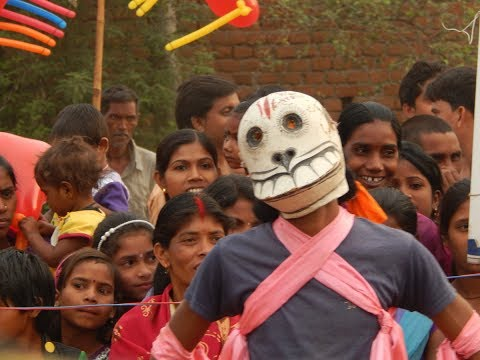 comic relief in Chhou dance of Puruliya |...