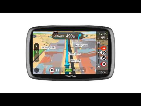 TomTom GO: Driving With The Guidance View