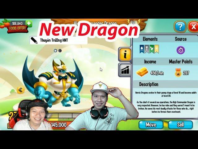 ?? LV 27 R?NG High Commander Dragon Dragon City Nông Tr?i R?ng HNT Channel New 486