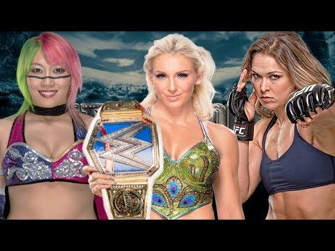 Asuka vs Ronda Rousey vs Charlotte