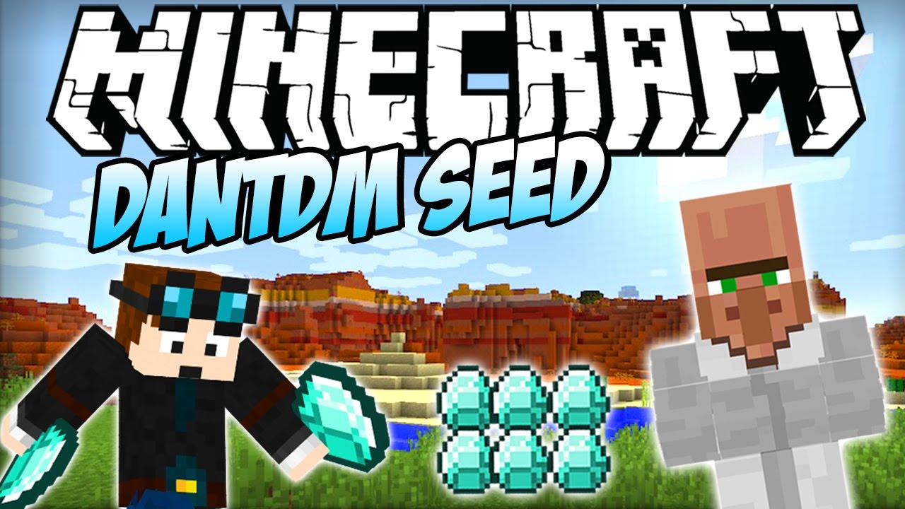 Minecraft | EASY DIAMONDS! The Diamond Minecart Seed ...