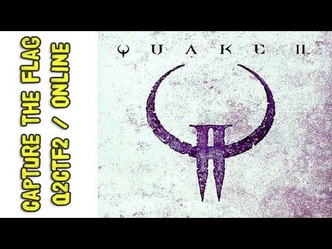 Vintage Gameplay: Quake 2 L-Fire CTF Online / Q2CTF2 / Torneo Clanes: DDR vs AFQ