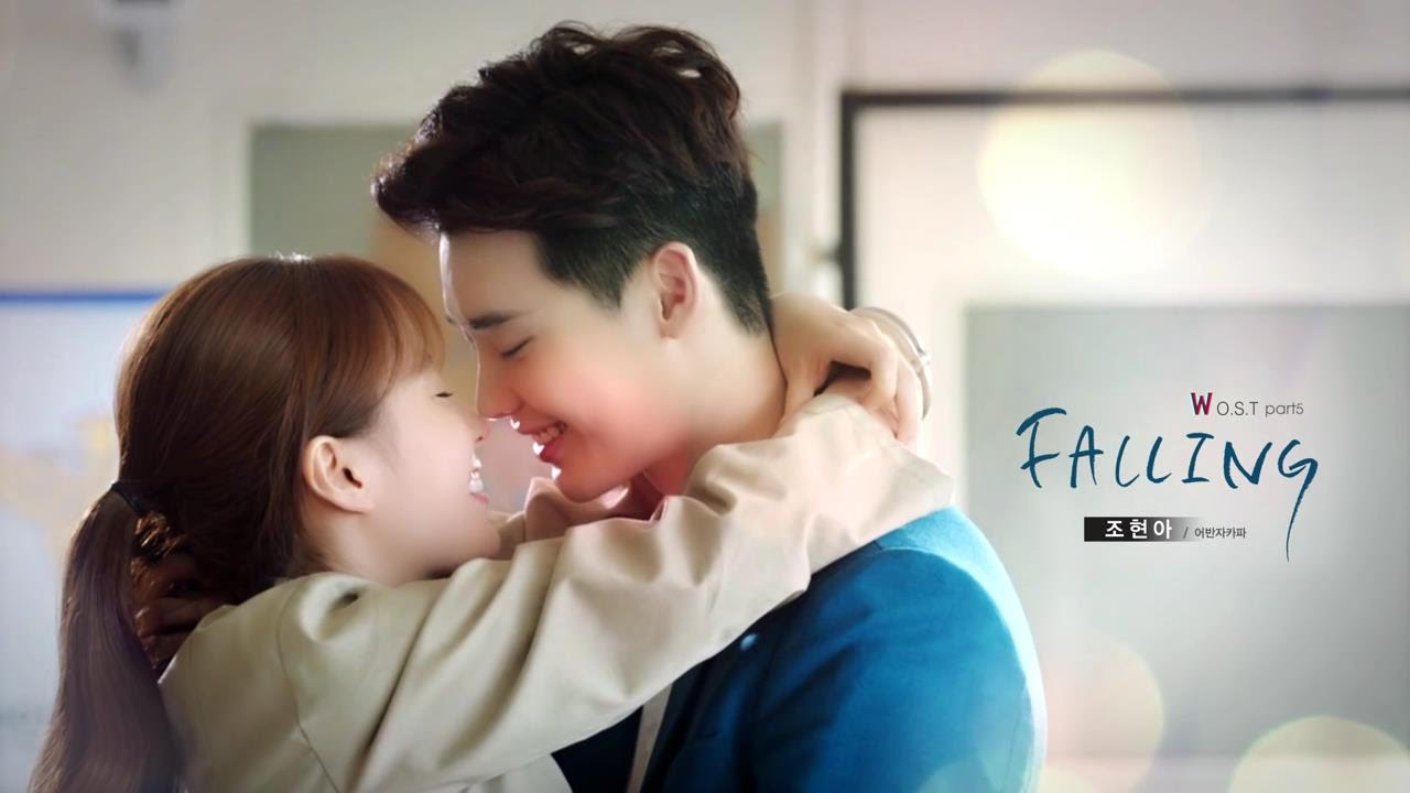 [W 兩個世界OST Part.5][中字]趙賢雅(조현아) - Falling - YouTube