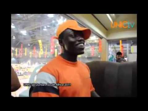 Orang Afrika Nyanyi Lagu Raihan